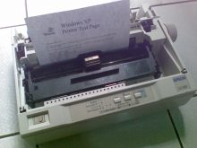 Cara Install Driver Printer Epson Lx 800 Tanpa Cd